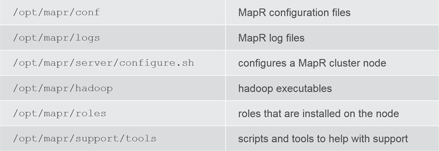 MapR local files